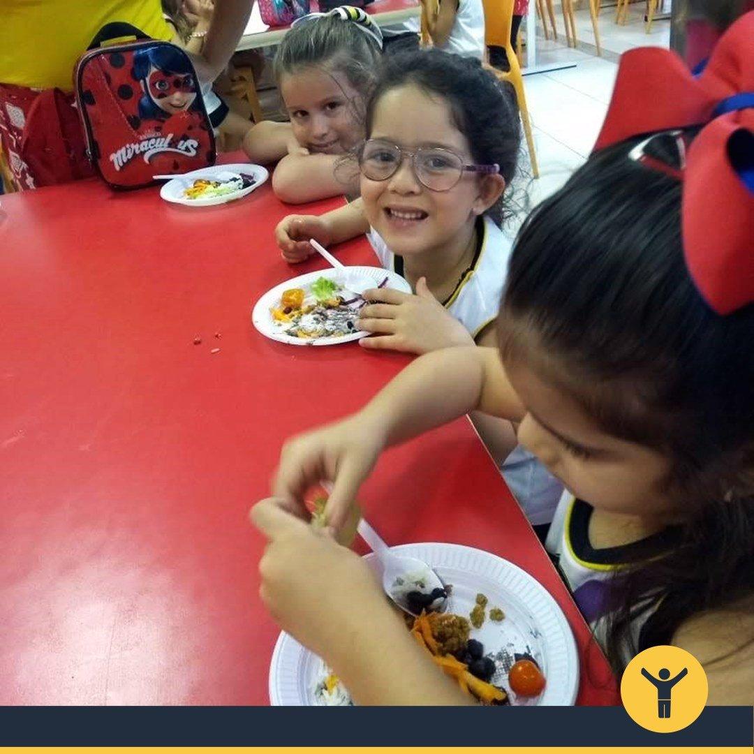 Educação Infantil aprende sobre comidinhas de panela