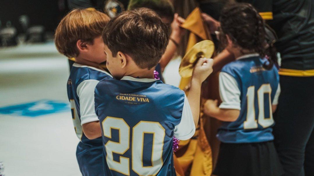 Confira a galeria de fotos da abertura do Eagles Games da Educ. Infantil